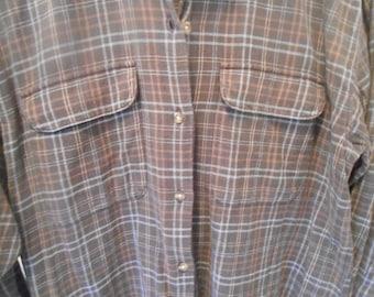 Ladies Woolrich Flannel Shirt