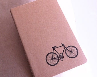 Bicycle   - Letterpress Moleskine Pocket Cahier