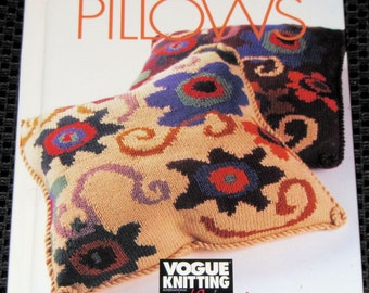 Vogue Knitting-Pillows - hardcover book
