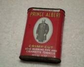 Prince Albert Pipe and Cigarette Tobacco Can