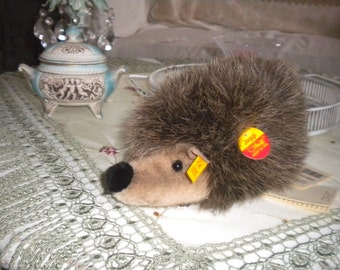 JUST REDUCED.......Vintage Steiff Hedgehog Joggi, Collectible, Baby's Room, Steiff, German