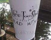Galvanized Backyard Wine Vase / Bucket