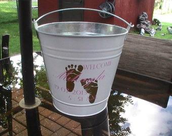 Backyard Baby Gift Bucket