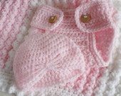 Pink and white. handmade crochet baby layette/ gift set.Choose your colour combinations.  Christening / shower /new baby  gift.