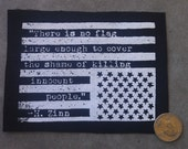 American Flag - Howard Zinn Patch