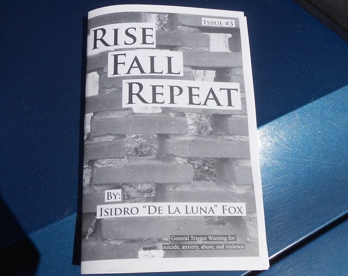 Rise, Fall, Repeat Zine - Issue No. 3 (B&W)