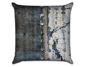"Metal Rivets 1 - Original Photo Sofa Throw Pillow Envelope Cover for 18"" inserts"