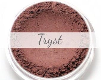 "Eyeshadow Sample - ""Tryst"" - matte burgundy Mineral Eyeshadow (Vegan) Natural Mineral Makeup Eye Color Pigment"