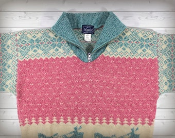 Collared Woolrich Sweater