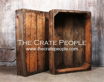 Vintage Wood Crates - The Raisin Sweat Box - Hundreds in Stock