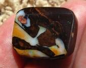 18.5ct  fantastic Koroit Boulder Opal /Australian Opal freeform  cabochon