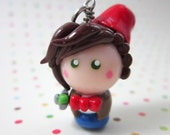 Doctor Who charm Eleventh Doctor chibi