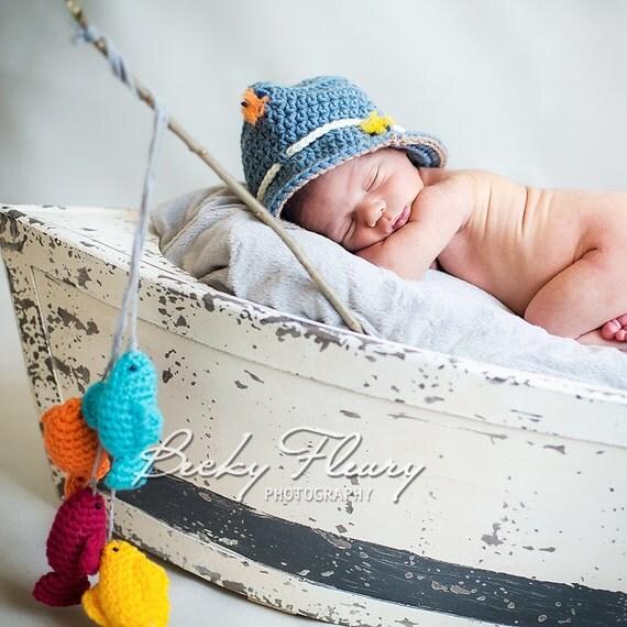 Baby Fisherman Hat Fishing Hat Newborn Fishing Hat