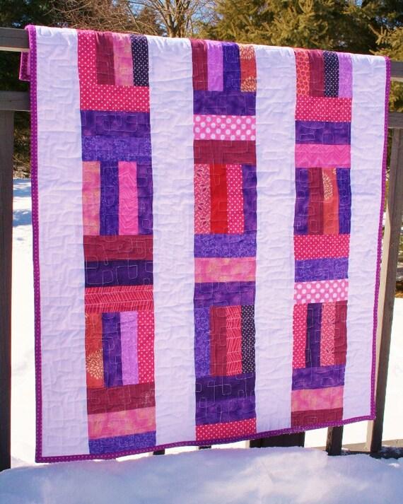Easy Modern Quilt Patterns Free : EASY Modern Baby QUILT PATTERN Instant Download Digital Pdf