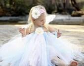 Sweet Dreams Fairy - Flower Girl Tutu Set size 9-12m,12-18m,  2t, 3t, 4t, 5t, 6