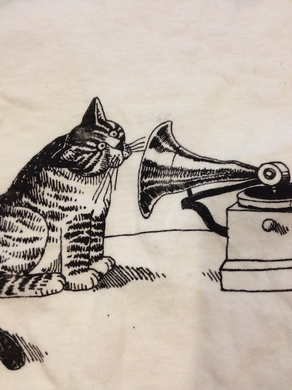 Ultimate Cat Phonograph Record Player Shirt By Lowsparkvintage