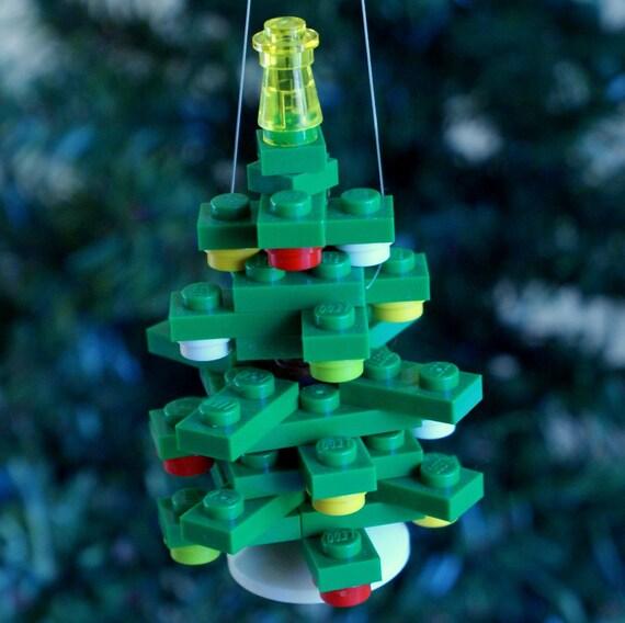 Christmas Tree Ornaments Etsy: Mini 3-D Tree Christmas Ornament