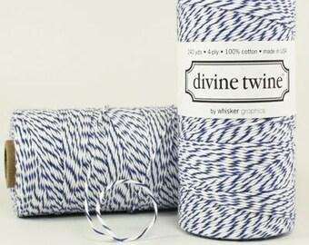 Blueberry Divine Twine Baker's Twine 240 Yards, Full Spool
