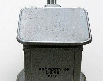 Marthas Vineyard Rare 'USPS TRINER Mail Mechanical Beam Scale' 1972 West Tisbury FAMOUS Alley's General Store