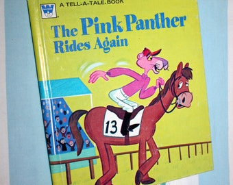 The Pink Panther Rides Again, 1976 Whitman Tell-a-Tale book
