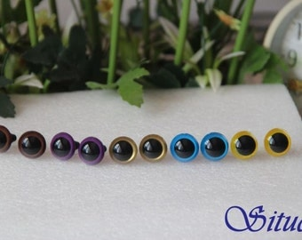 5 pair 15mm 5-colors Color Safety Eyes for Stuff Animal