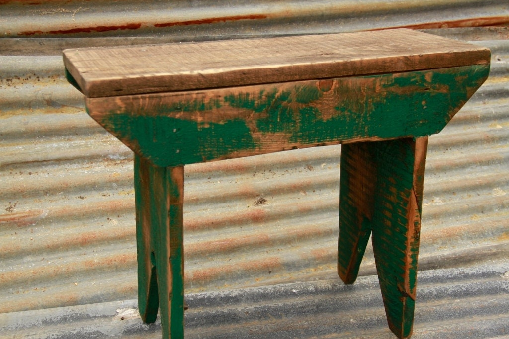 Primitive Bench Distressed Bench Farm Table Wooden Bench