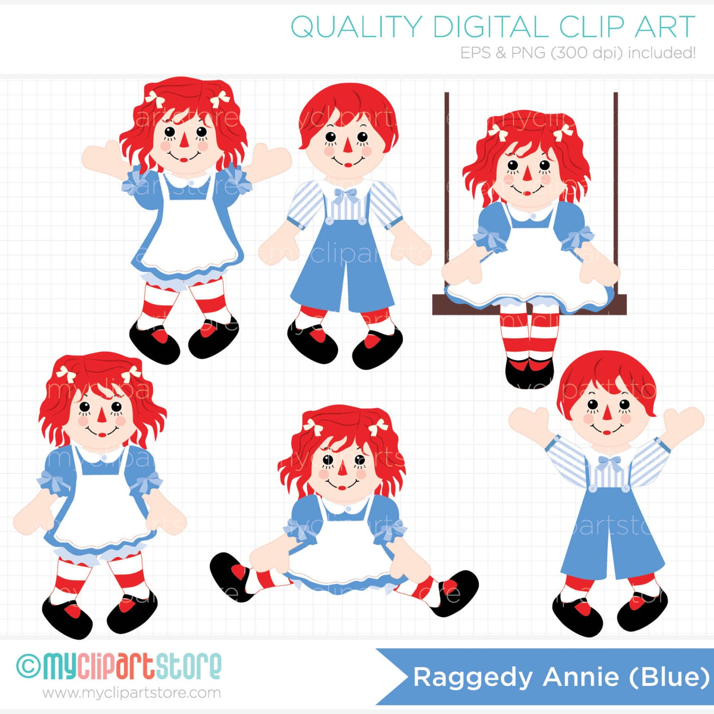 clipart raggedy annie rag doll cute doll doll clipart