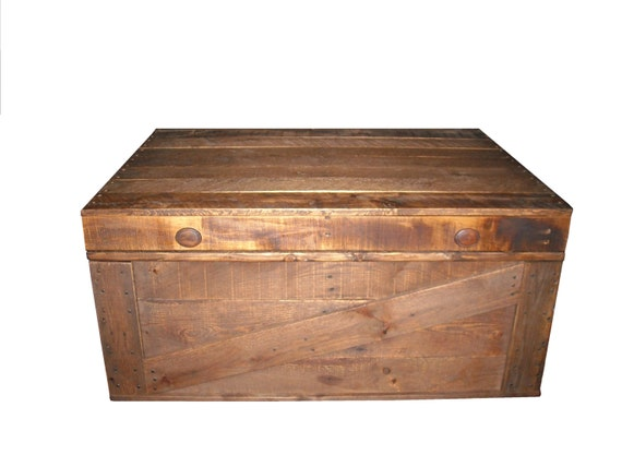 Coffee Table Storage Box Primitive Home Decor By Jdwallingtons