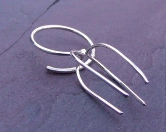 Adjustable Solid Sterling Silver Ring Blank, 16ga band 18ga prongs - MADE TO ORDER