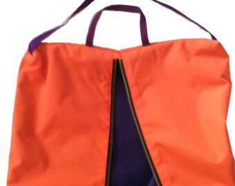 Bridle Bag Tangerine Plum