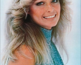 "Farrah Fawcett ""Logan's Run"" Portrait Stand-Up Display - Collectibles Collection Collector TV Show Gift Idea Fashion Sci-Fi"