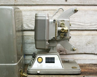 Vintage Mid Century DeJur Projector -- Working with Case