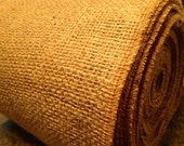 """BURLAP By the ROLL - 14"""" wide Natural Burlap Table Runner - Wedding or Party - By the Roll or Custom Lengths - burlap runner"""