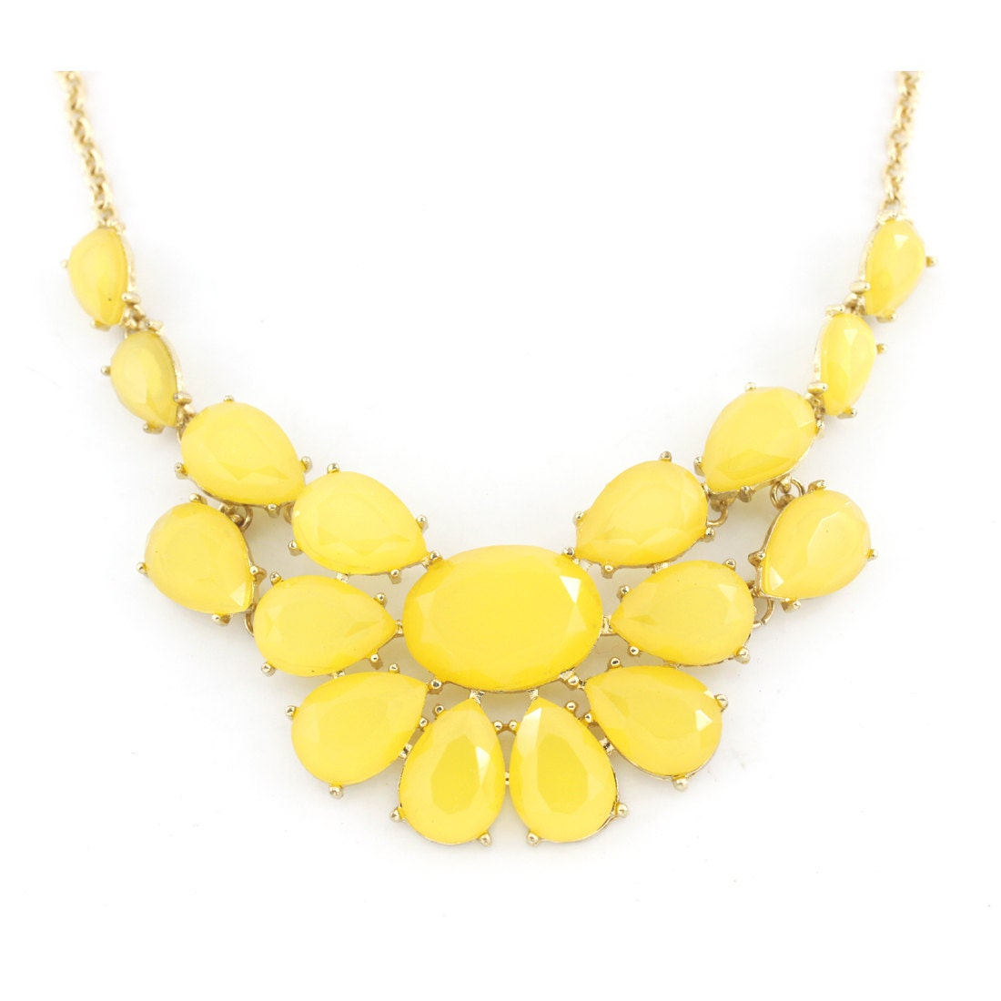 Shop for and buy yellow statement necklace online at Macy's. Find yellow statement necklace at Macy's.