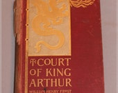 """Reserved for Jill - Vintage """"Court of King Arthur"""" book by Frost with black and white illustrations"""