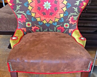 Custom Funky Chair This chair is SOLD