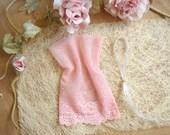 Powder Rose  Favor Bags