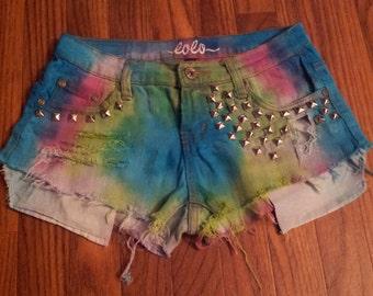 Tye Dye Custom Shorts