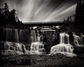 Gooseberry Falls, Minnesota, North Shore Long Exposure Large Format Print
