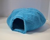 Crochet Cat Cave Pet Bed Handmade Made to Order Littlestsister