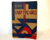 Vintage Book of the Camp Fire Girls 1946