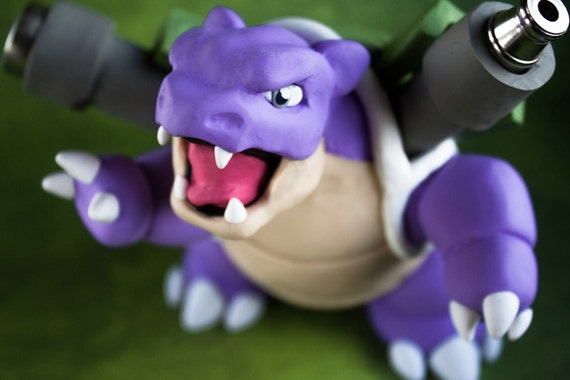 Shiny Blastoise Pokemon Pipe ( Mobile Users Please See 'Listing Details' For More Info )