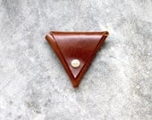 Coin Tri Pouch - Hand Crafted Leather Custom