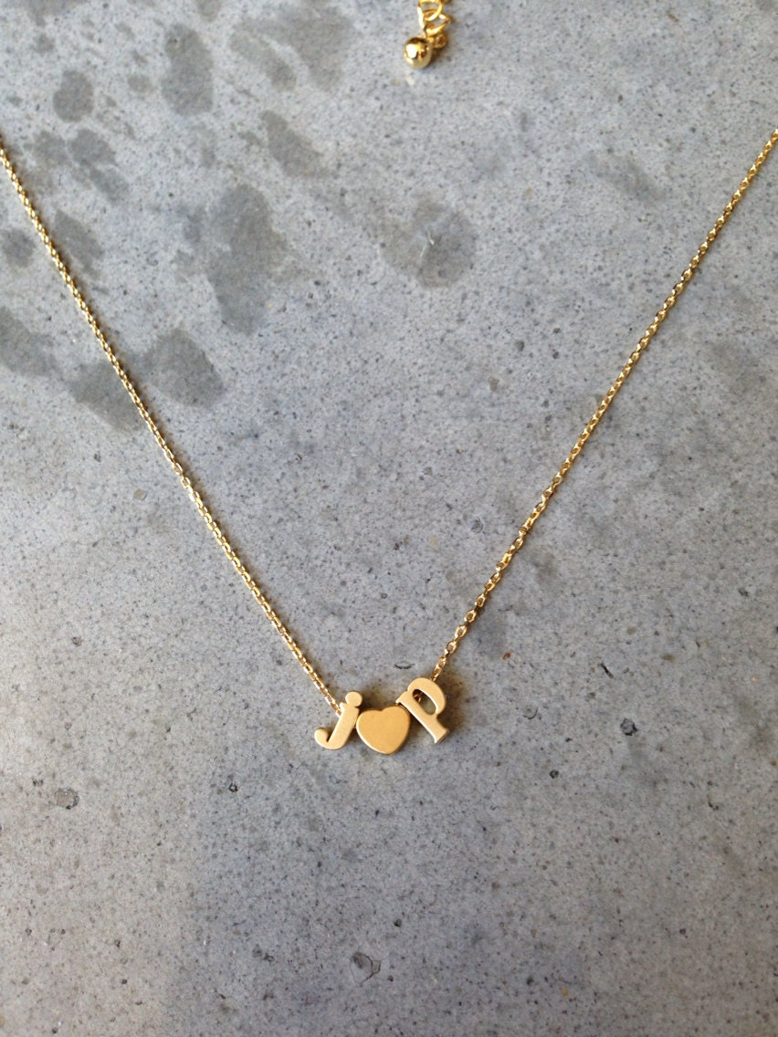 lower case initial necklace gold initial gold letter gold heart initial letter letter necklace personalized necklace