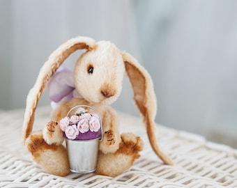 Artist Teddy Bunny PDF Pattern Candy 18cm