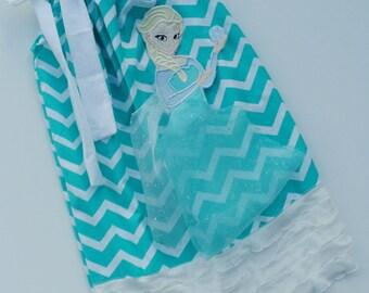 Frozen Queen Elsa Inspired Pillowcase Dress