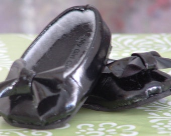 Black Patent Leather Ballet Flats