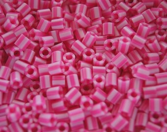 Perler Beads for sale - Pink Candy Stripe (109)