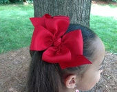You pick 4 - Girls Big hair bows - Toddler hair bows - bows for girls . You can choose colors.