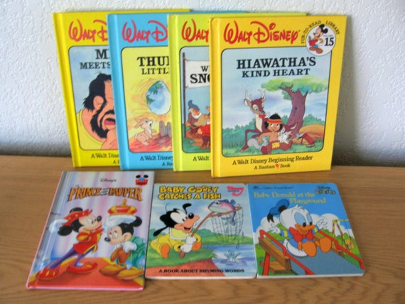 Vintage Disney Book Collection
